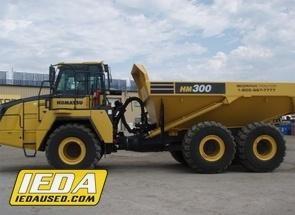 Used 2013 Komatsu HM300-3 For Sale