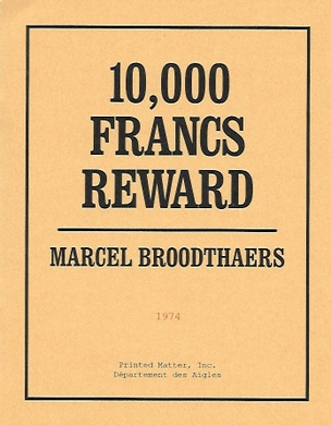 10,000 FRANCS REWARD