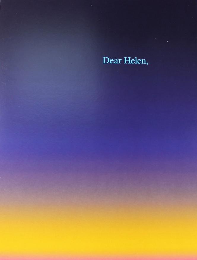 Dear Helen,