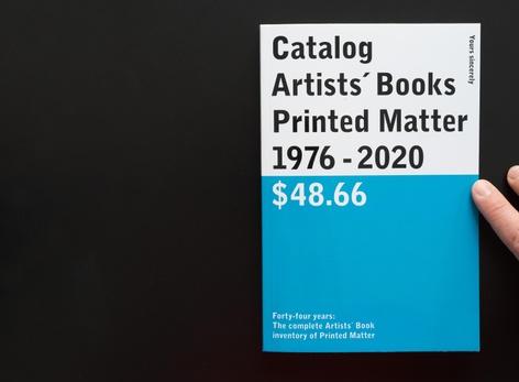 _Catalog / Artists' Books / Printed Matter / 1976–2020 / $48.66_