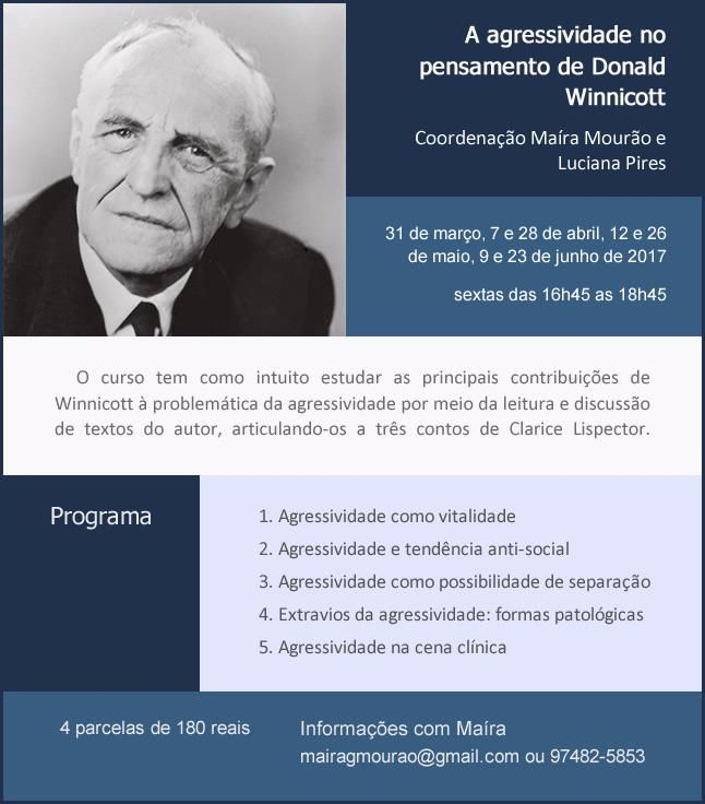 A agressividade no pensamento de Donald Winnicott
