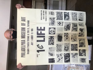 Artists of 1¢ Life: Philadelphia Museum of Art, July 1-August 31, 1965 [Poster]
