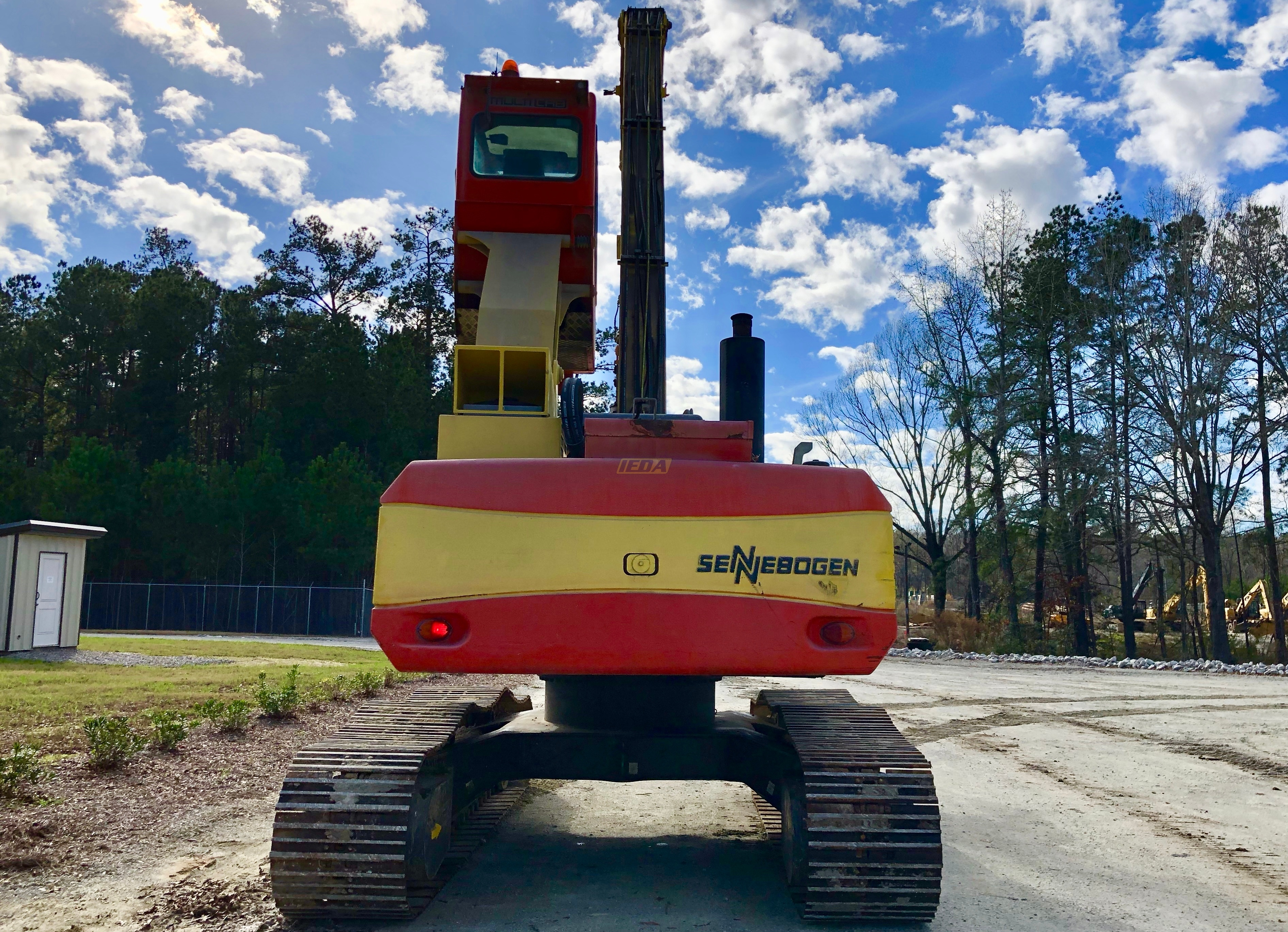 Used 2012 Sennebogen 818R For Sale