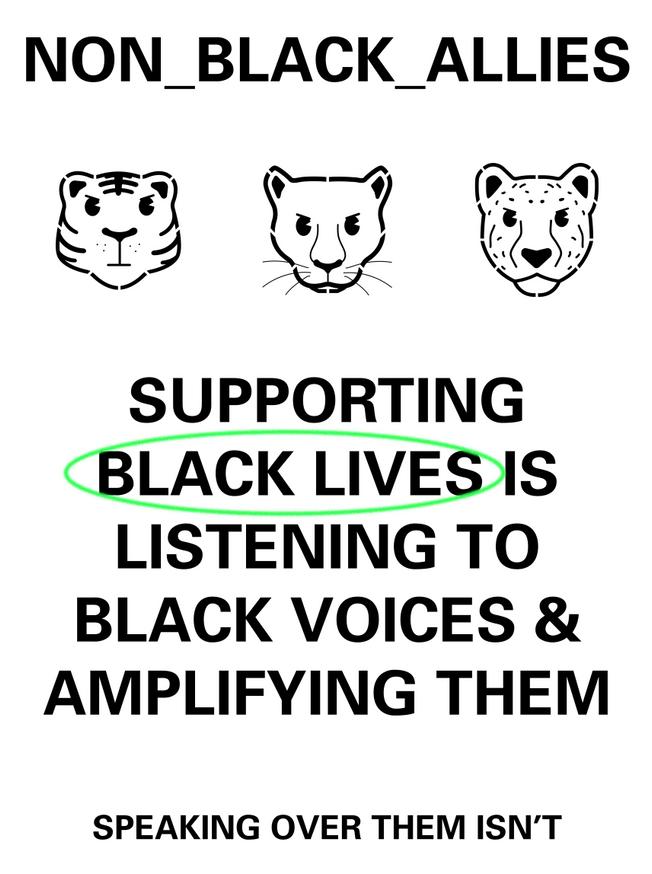 Non _ Black _ Allies _ Listen
