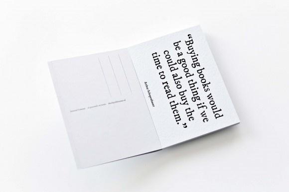 Inverted Commas: Postcards On Books thumbnail 4