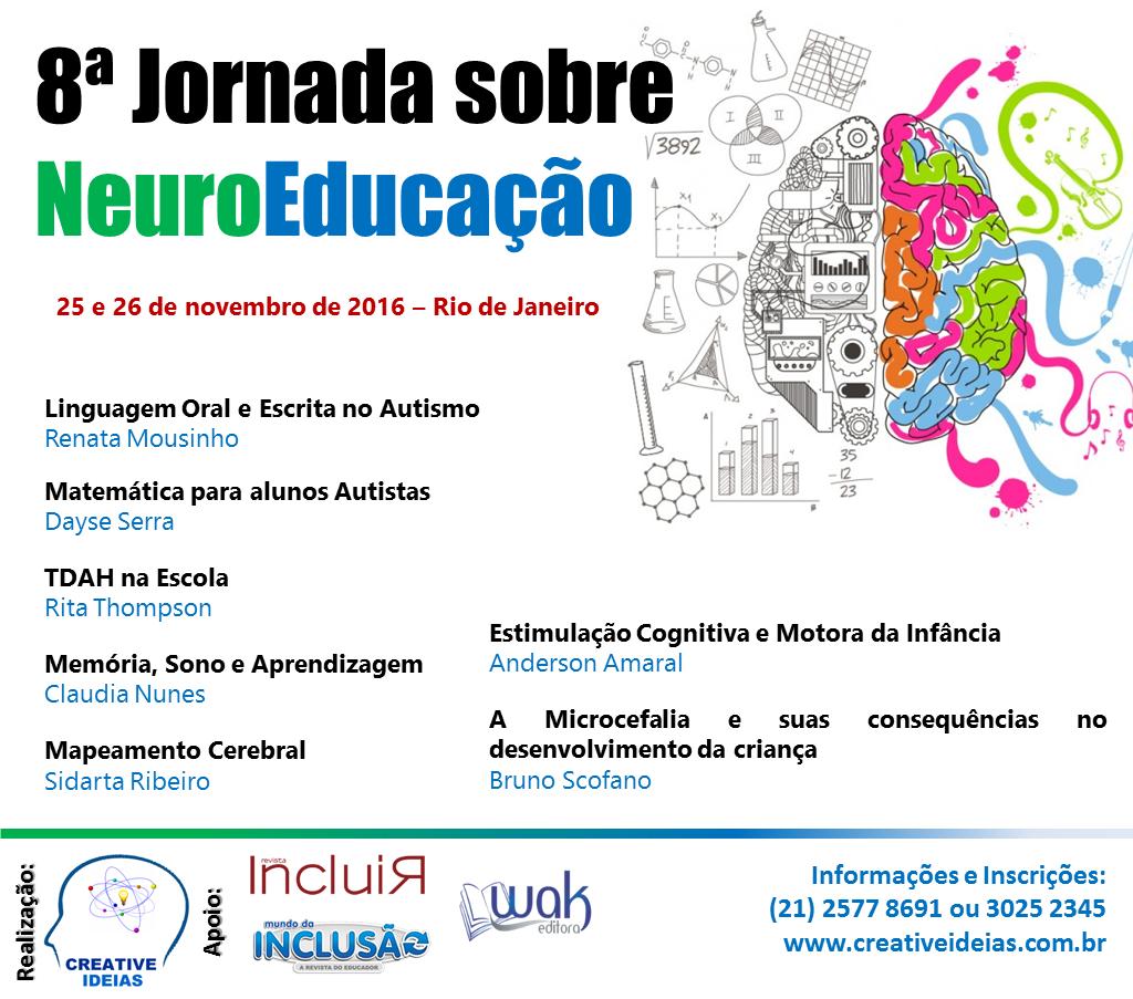 8a. Jornada sobre NeuroEducação