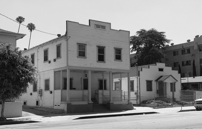FIG. 5: Rooming House/Obayashi Employment at 564 North Virgil Avenue and Joyce Boarding House at 560 North Virgil Avenue. Image courtesy of Los Angeles City Planning.