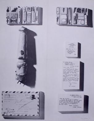 Ray Johnson : New York Correspondance School, Richard Feigen Gallery New York [Exhibition Poster]