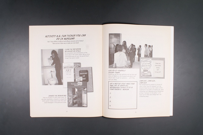 The Guerrilla Girls' Art Museum Activity Book thumbnail 4
