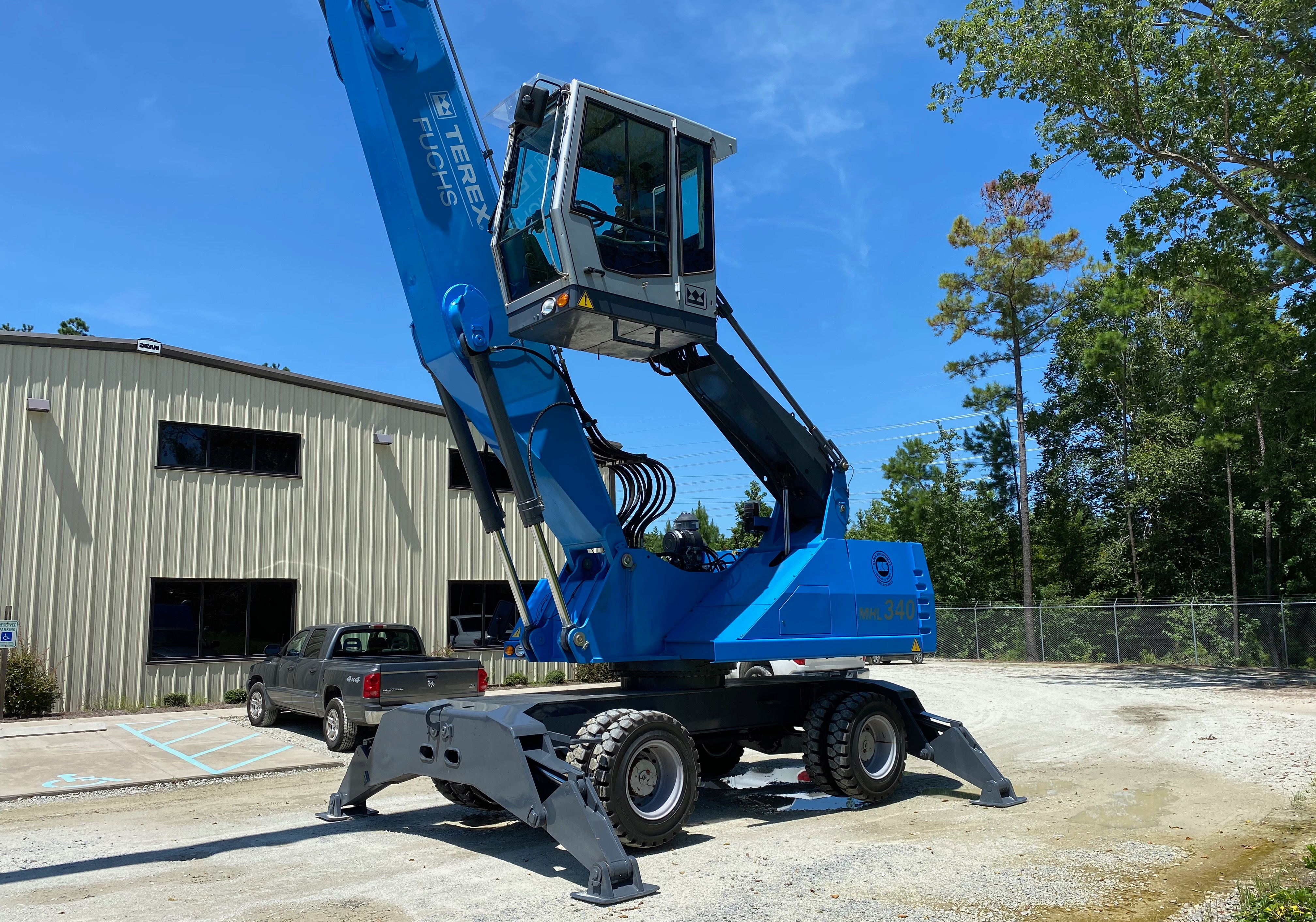 Used 2009 Fuchs MHL340D For Sale