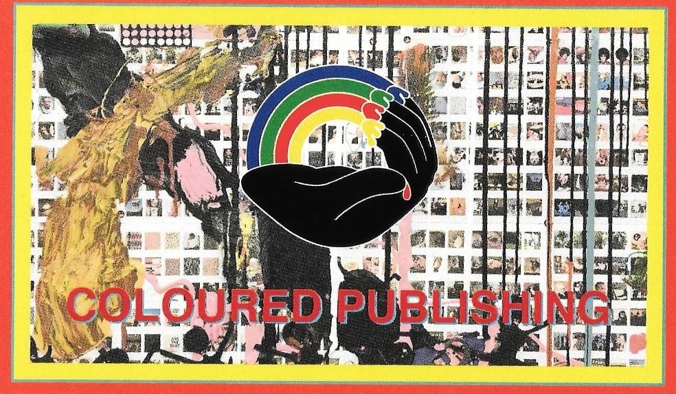 Coloured Publishing Sticker