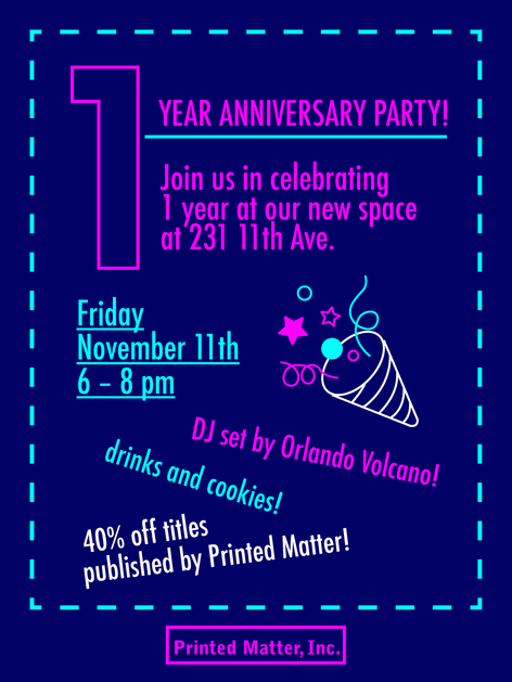 1 Year Anniversary Party!