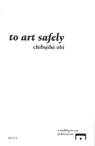 To Art Safely