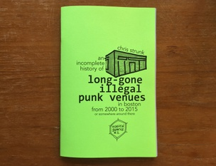 Long-gone Illegal Punk Venues