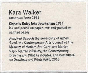 Permanent Collection Canvas Patch: Kara Walker