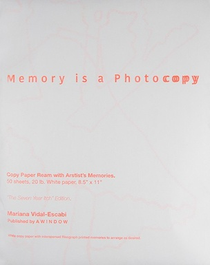 Memory Is a Photocopy