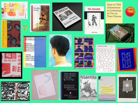 2019 NY Art Book Fair Picks