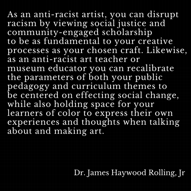 Anti-Racist Guidelines for the Arts