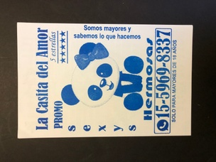Culo Card (Blue)