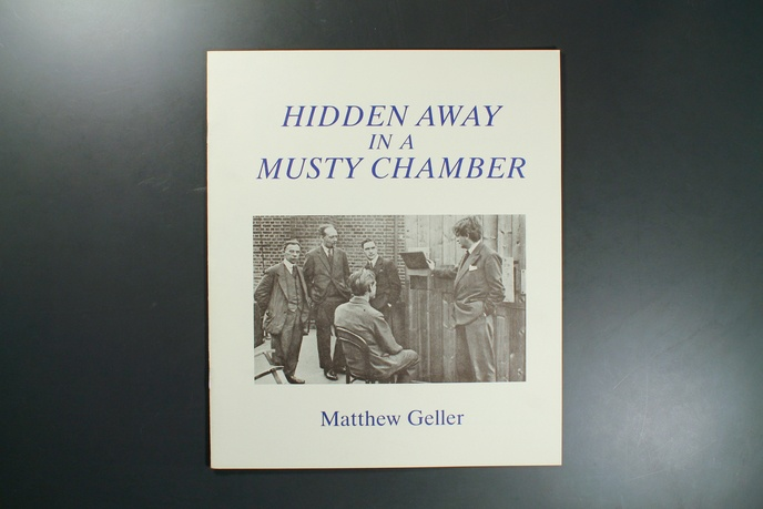 Hidden Away in a Musty Chamber