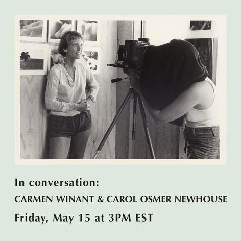Carmen Winant and Carol Osmer Newhouse in conversation