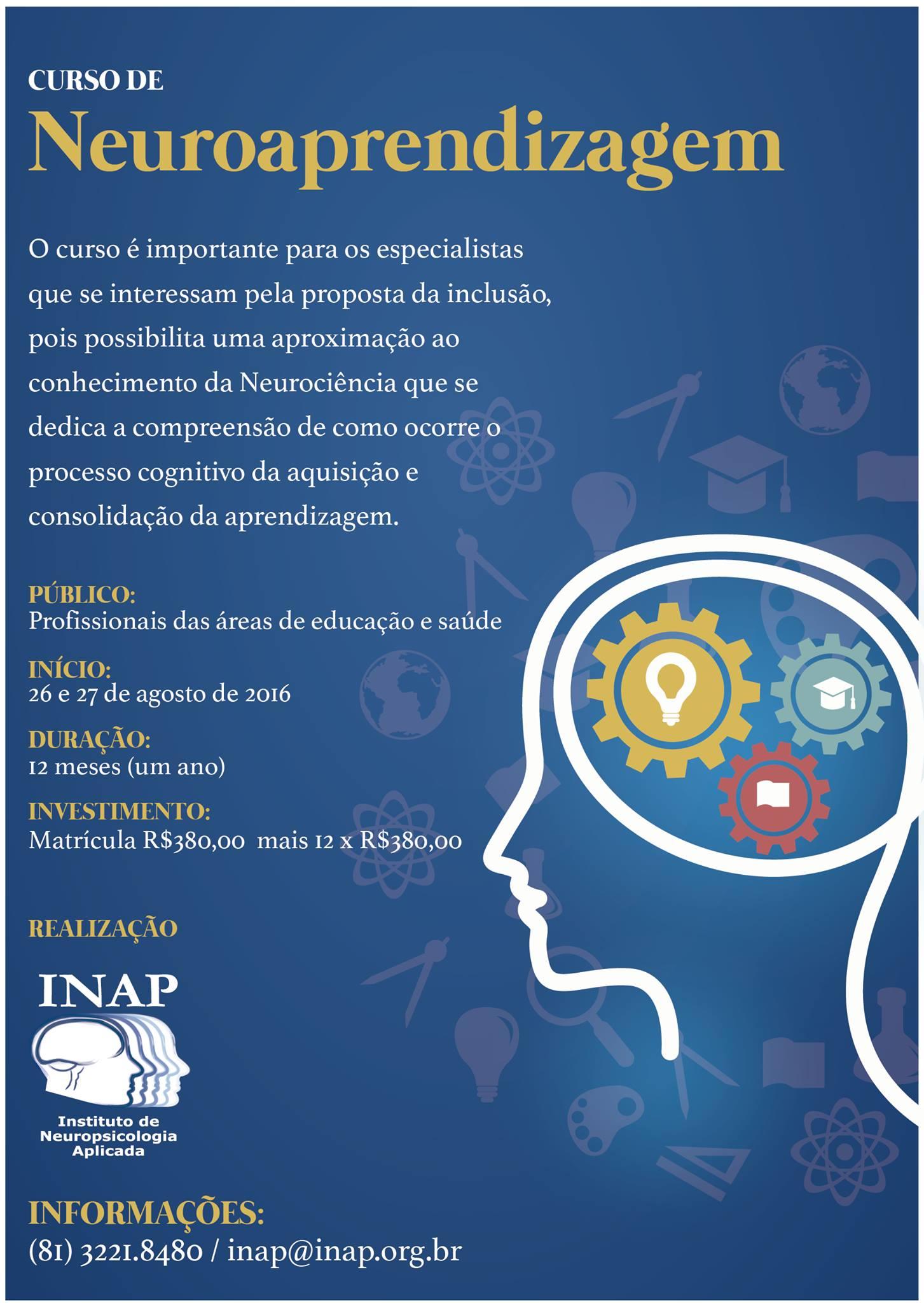 Curso de Aperfeiçoamento em Neuroaprendizagem
