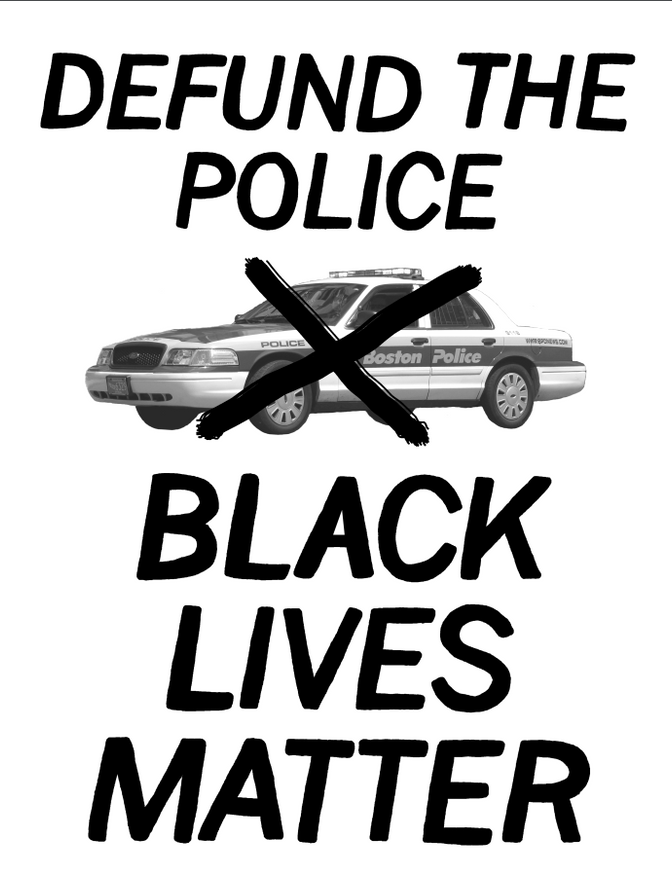 Defund the Police / Black Lives Matter thumbnail 1