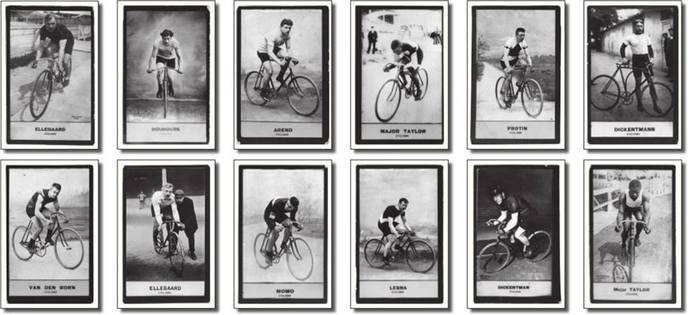 Retro-Cyclisme Postcard Set