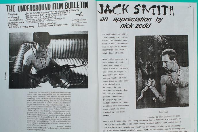 Underground Film Bulletin