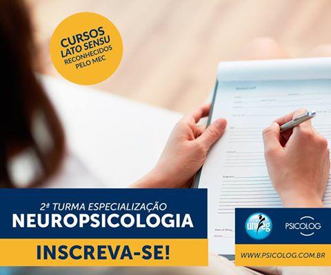 ESPECIALIZAÇÃO LATO SENSU EM NEUROPSICOLOGIA