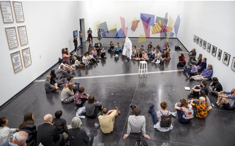 Brian Fuata: A preparatory/ predictive performance for a circuit of email and the living