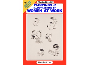 Paintings of Illustrations of Women at Work