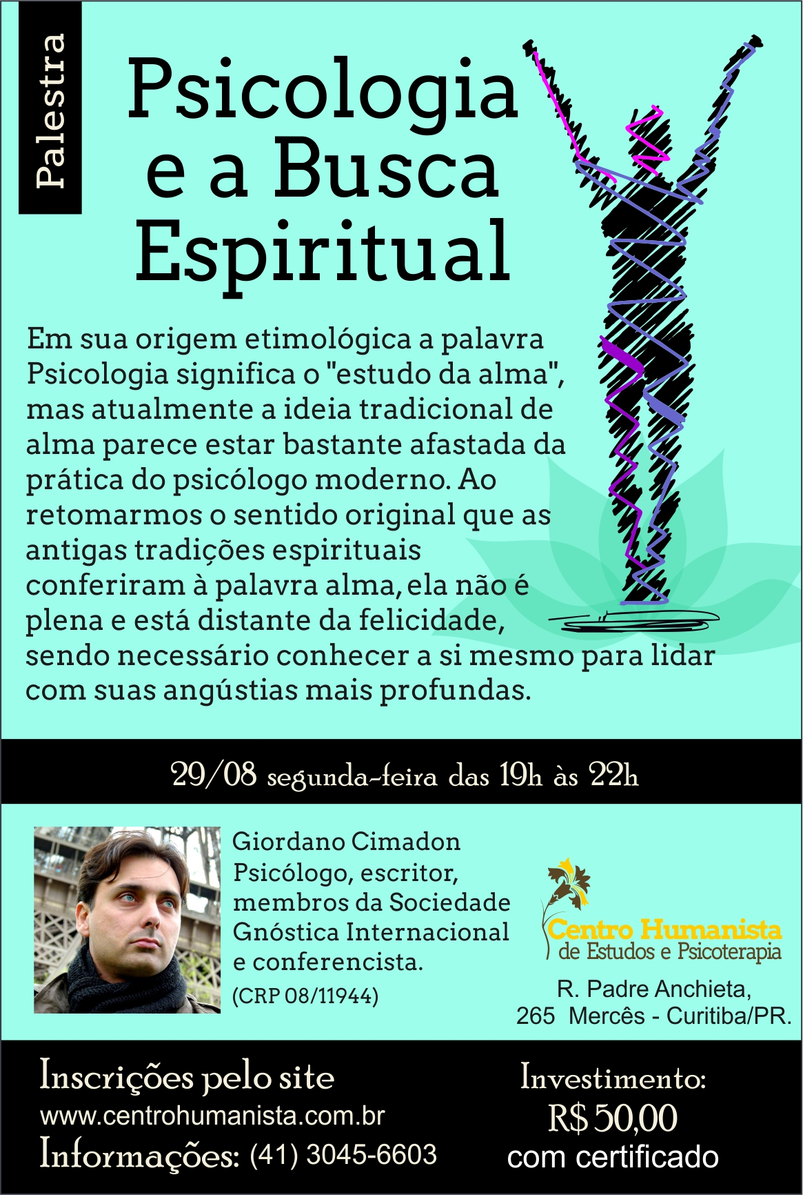 Psicologia e a Busca Espiritual - Curitiba PR