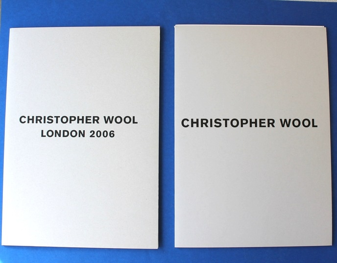 Christopher Wool Publications [Set of 14] thumbnail 5