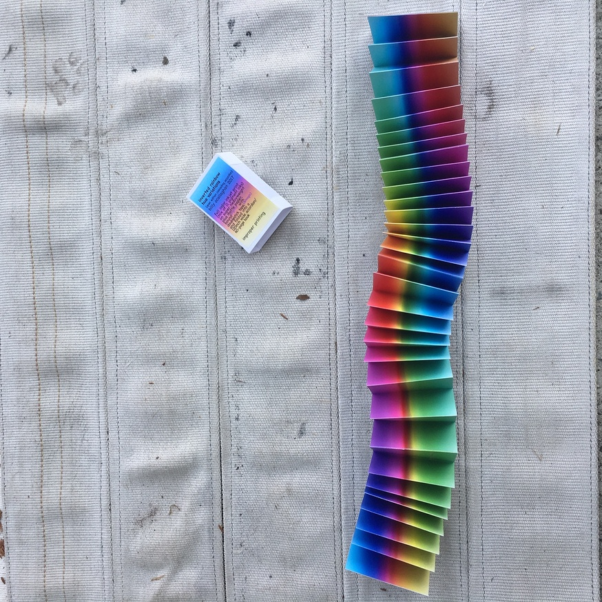 inverted rainbow hue variations (cascading accordion) thumbnail 3