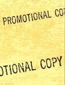 Promotional Copy