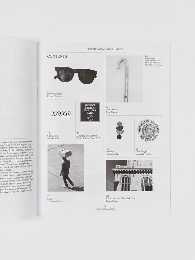 Pedestrian Magazine #5