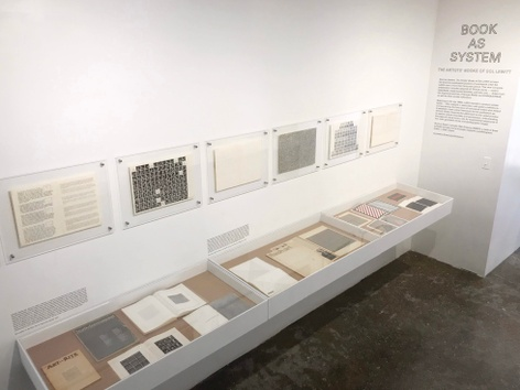 Book as System: The Artists' Books of Sol LeWitt