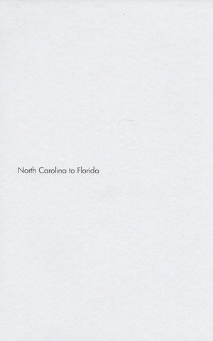 North Carolina to Florida