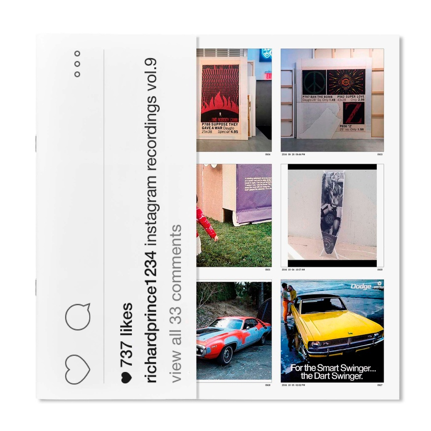 Richard Prince 1234: Instagram Recordings, Vol. 9 thumbnail 1