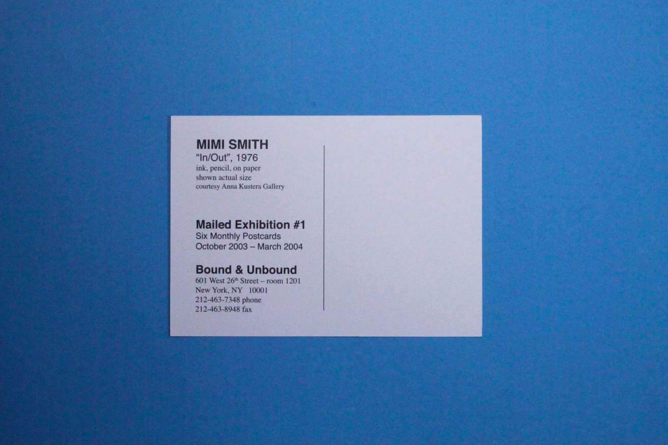 Mimi Smith Mailed Exhibition #1 Postcards [Set of 6] thumbnail 8