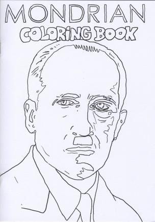 Mondrian Coloring Book