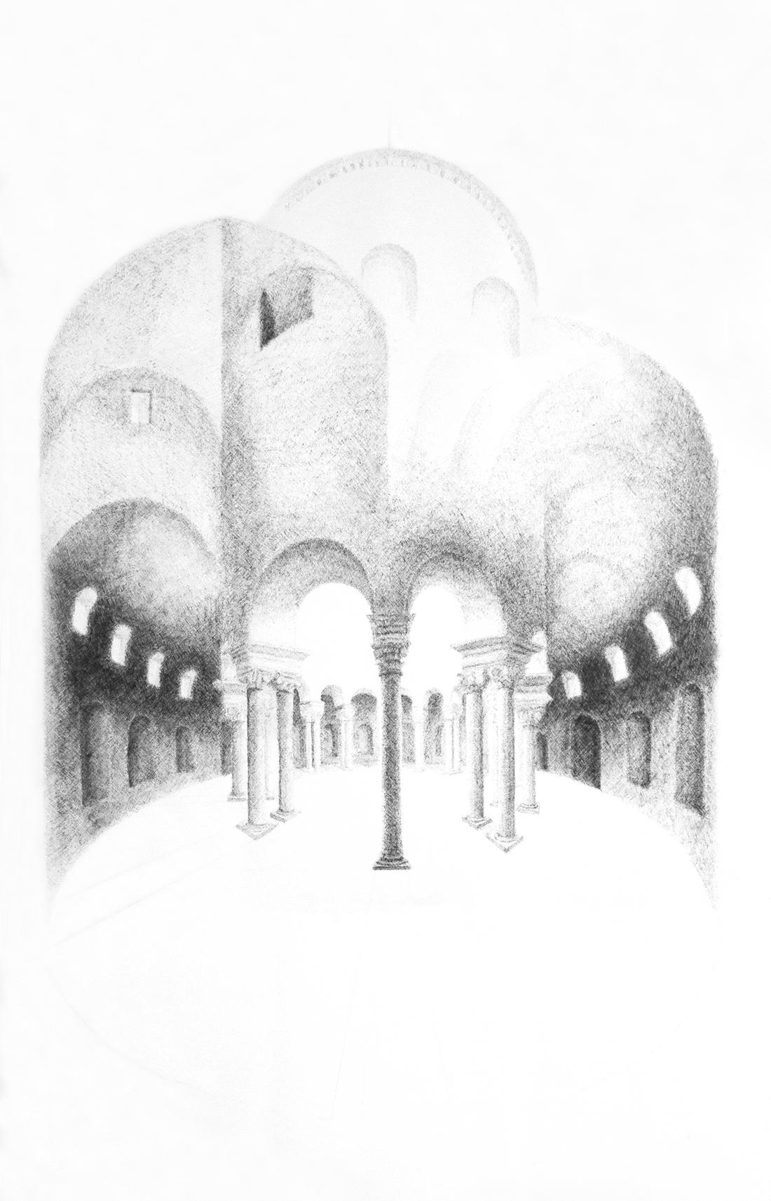 Drawing by Robert Yoos