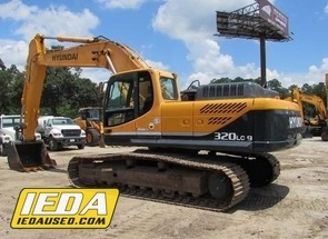 Used 2011 Hyundai ROBEX 320 LC-9 For Sale