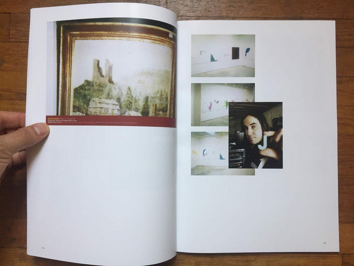 Altered Secession Catalogue - Michael Krebber (J Mascis) thumbnail 3
