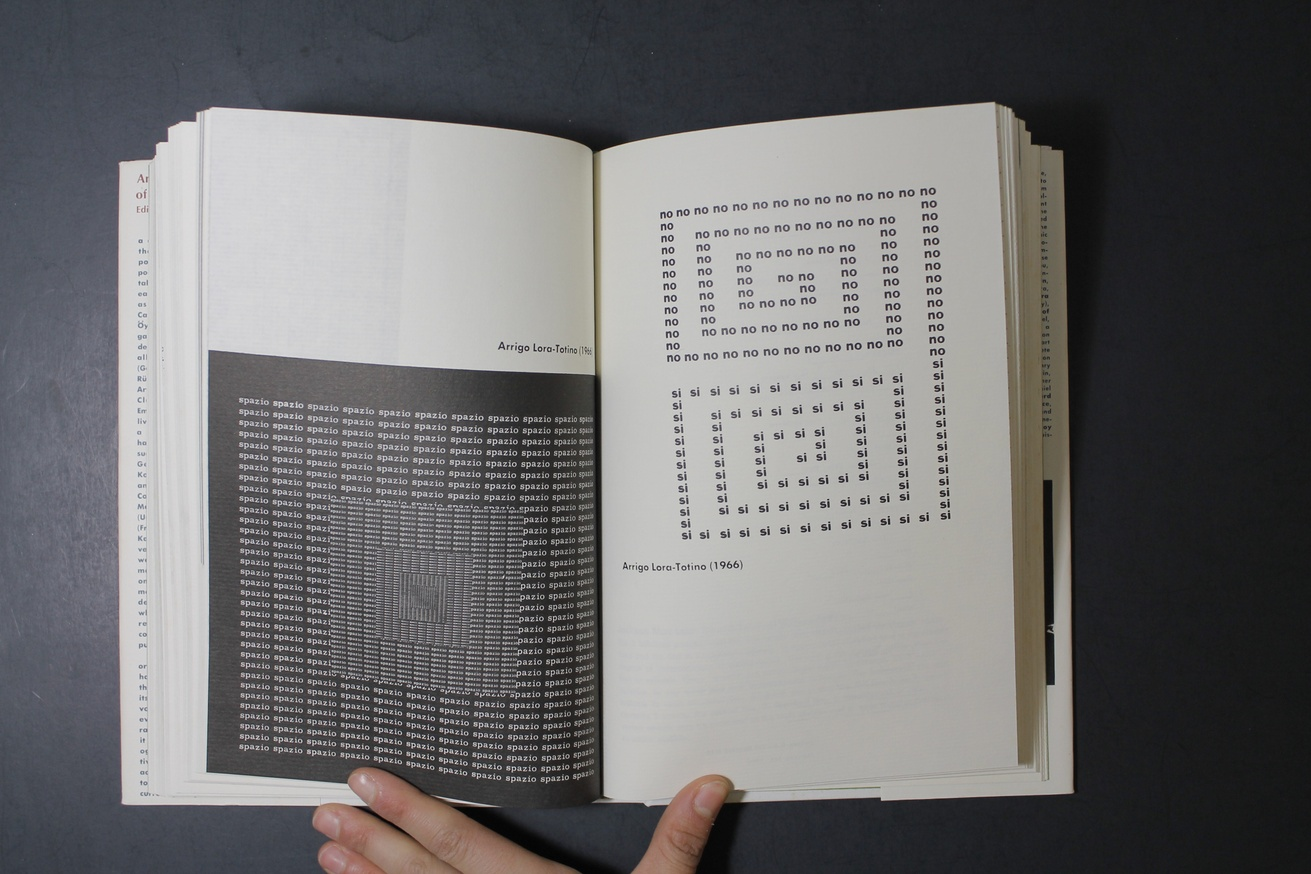 An Anthology of Concrete Poetry [first edition, hardback] thumbnail 5