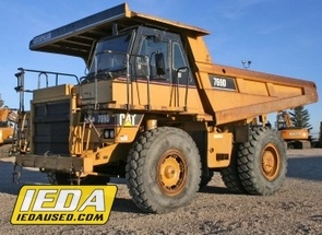 Used 2006 Caterpillar 769D For Sale
