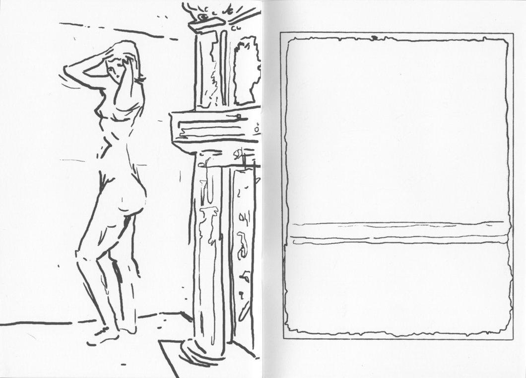 christian gfeller rothko coloring book printed matter