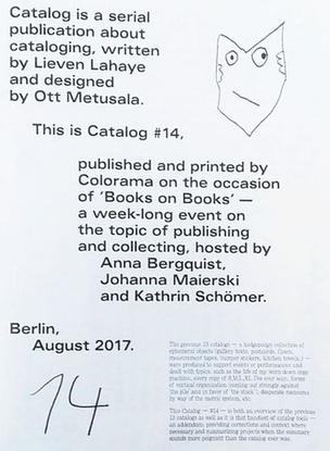 Catalog #14