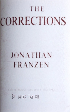 The Corrections by Jonathan Franzen by Mike Taylor